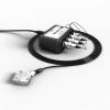 Трехканальный виброметр 110-IEPE-DIN