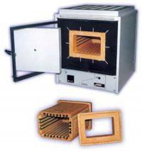Муфельная печь SNOL 15/1300 с интерфейсом