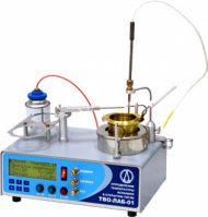 Аппарат для определения температуры вспышки в открытом тигле ТВО-ЛАБ-01