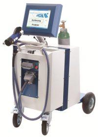 Спектрометр TEST-MASTER - анализатор металлов в условиях цеха