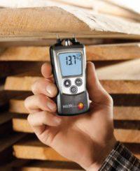 Карманный строительный влагомер Testo 606-1 для древесины бесконтактный