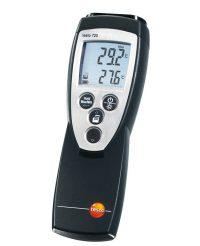 Термометр Testo 720 одноканальный для высокоточных лабораторных и промышленных измерений