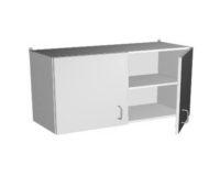 Шкаф навесной с дверцами НВ-1200 НШ (1200*350*550)