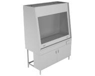 Вытяжной шкаф НВ-1500 ШВ-Б (1410*700*1960)