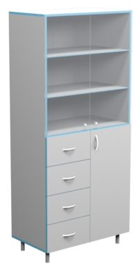 Шкаф для посуды СП НВК 800 (800x460x1820)
