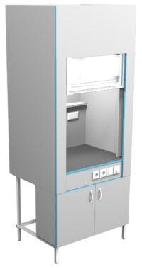 Шкаф вытяжной без сантехники ШВ НВК 900 КГ (900x716x2200)