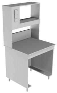 Стол пристенный физический НВ-800 ПК (760*700*1650)