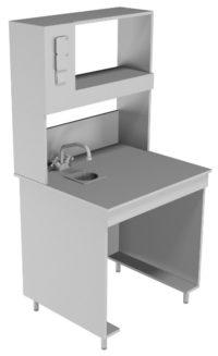 Стол пристенный химический НВ-800 ПЛХ (760*700*1650)