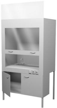 Вытяжной шкаф НВ-1200 ШВ-МО (1100*700*1960)