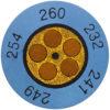 Круглые термоиндикаторы testoterm - измерительный диапазон +116 … +138 °C (0646 0074)
