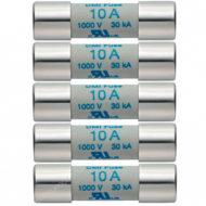 Комплект плавких предохранителей 10A/1000V (0590 0004)